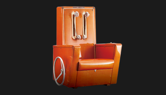 1965 Fuji massage chair A-1