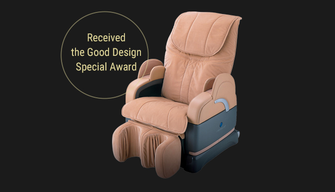 2003 Won the Good Design Award [CYBER-RELAX solution massage chair AS-878]